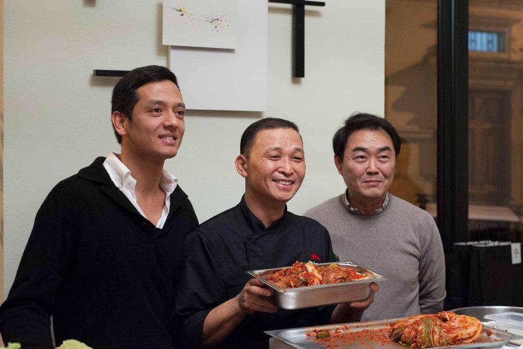 kimchi coreano da galbi