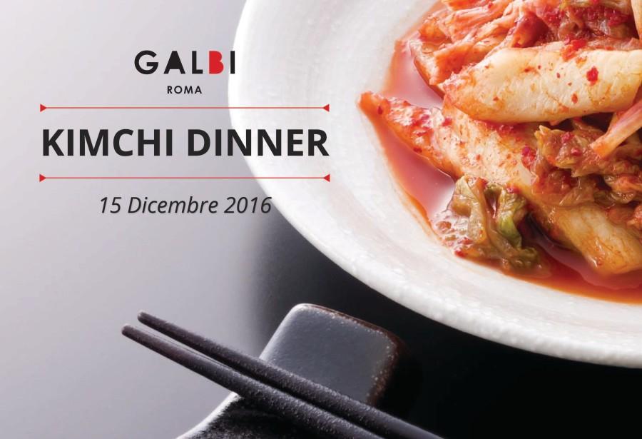 Kimchi Dinner del 15 Dicembre: il Menu di 6 portate a 25€ tutto da scoprire.